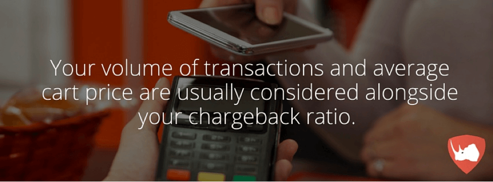 Factors Considered Alongside Chargeback Ratio
