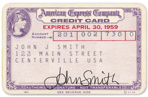 First American Express Credit Card