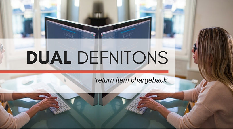 Return Item Chargeback Two Perspectives Chargeback